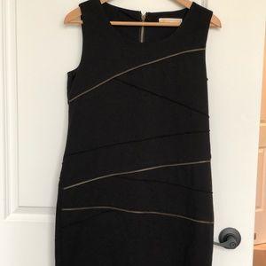 Michael Kors black zipper dress